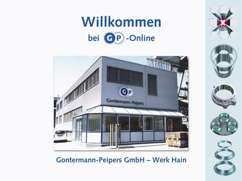 Gontermann-Peipers Online